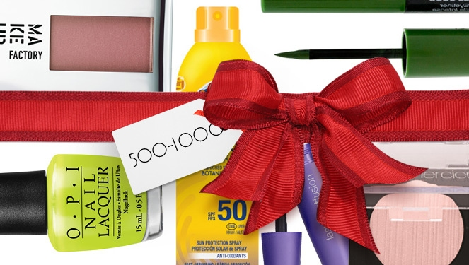 Holiday Beauty Gift Guide: P500 To P1000