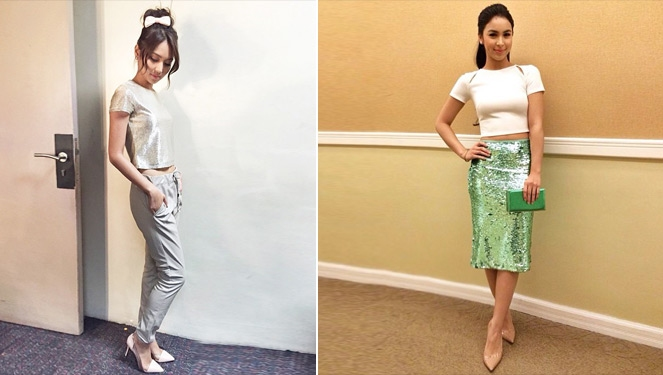 How Kathryn Bernardo And Julia Barretto Are Wearing Their Sparkly Pieces