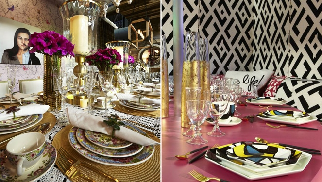 How To Dress Up Your Holiday Table Like A Fashion Designer