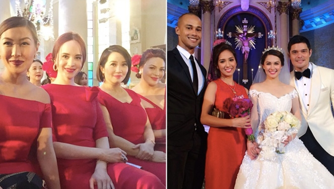 Celebrities We Spotted At Dingdong Dantes And Marian Rivera's Wedding
