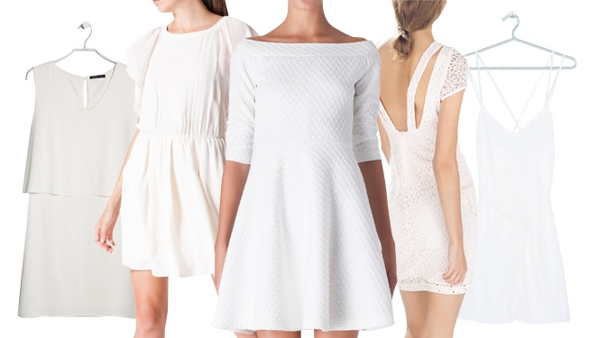 19 White Dresses To Jump Start 2015