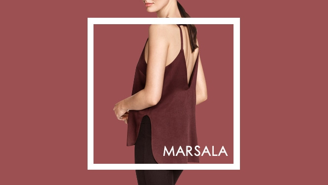 How To Wear Marsala