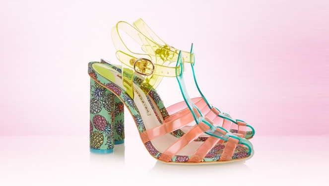 It Shoe: Sophia Webster Rosa Vinyl Sandals