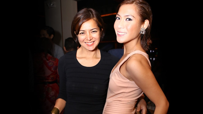 Alice Dixson, Rocco Nacino And Bianca Manalo Graced Tim Yap's Birthday Bash At Valkyrie