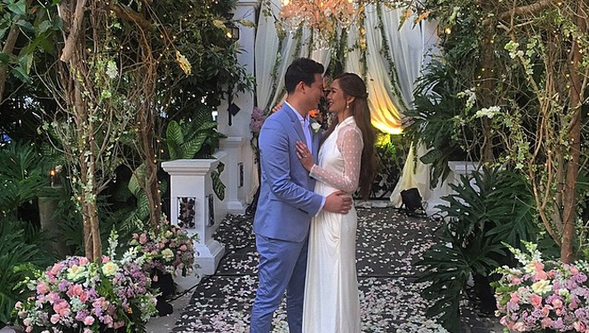 Updated: A First Look At Bea Soriano-dee's Wedding Dress