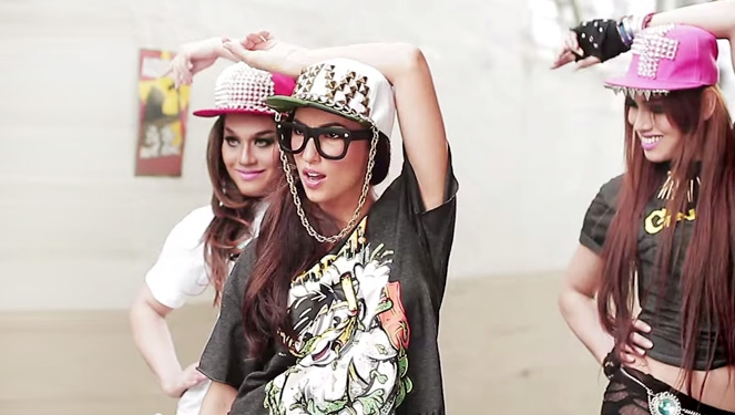 "Solenn Was A ""diva,"" And Other Celebrity Music Videos You Need To See"