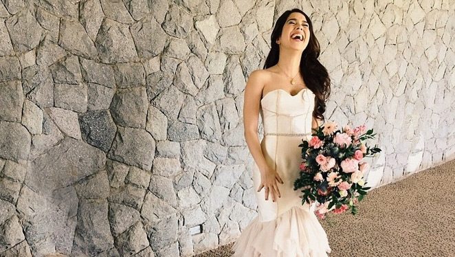 Everything You Need To Know About Saab Magalona's Punk Inspired Wedding Dress