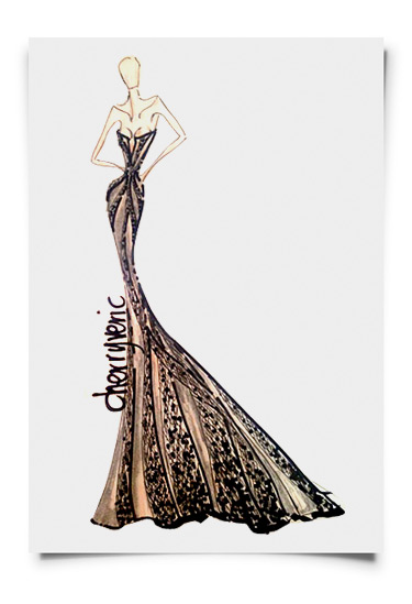 Cheery Veric designs Miss Philipopines evening gown