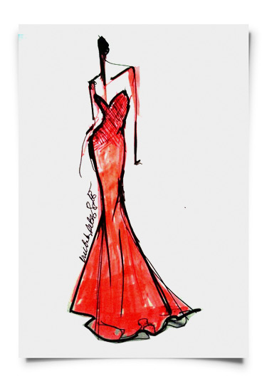 Eric delos Santos designs Miss Philippines evening gown
