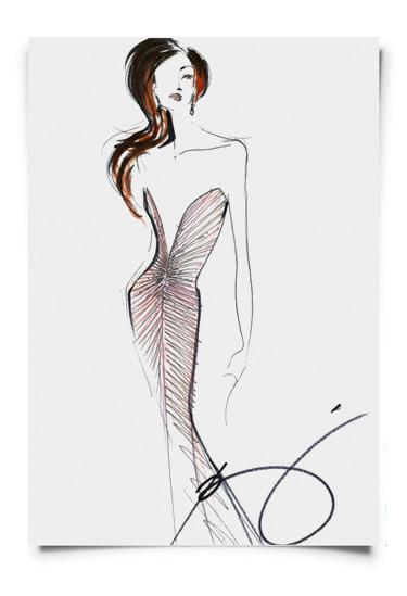 Rajo Laurel designs Miss Philippines evening gown