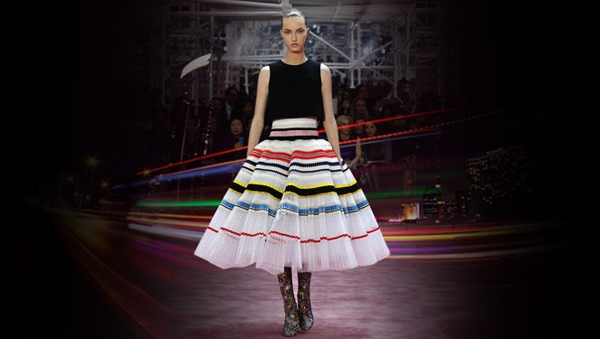 Speaking Of Cake Dresses, Raf Simons Made Some Really Great Ones At Dior Haute Couture