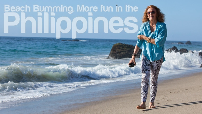 Diane Von Furstenberg Has More Fun In The Philippines