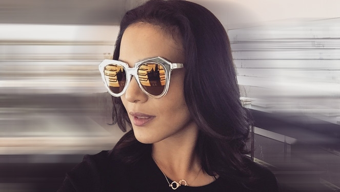 Celebs Are Wearing: Karen Walker Sunnies