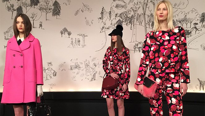 First Look: Kate Spade A/w 2015