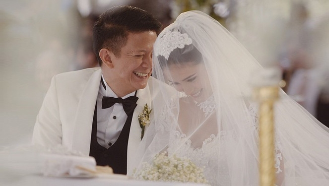 All The Little Details Of Heart Evangelista's Wedding