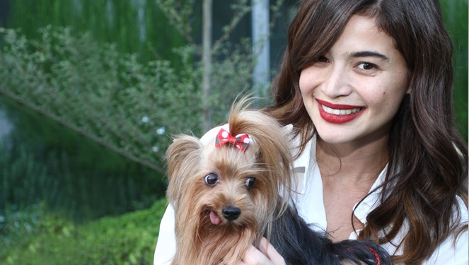 Celebrity Pets Princess, RagÙ And Beauty Spotted At The Swatch Launch