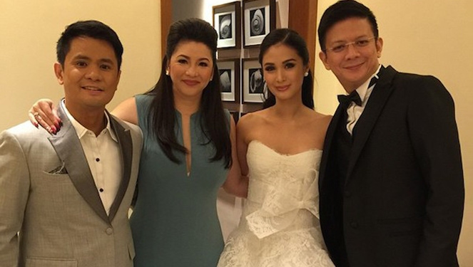 Celebs We Spotted At Heart Evangelista-escudero's Manila Reception