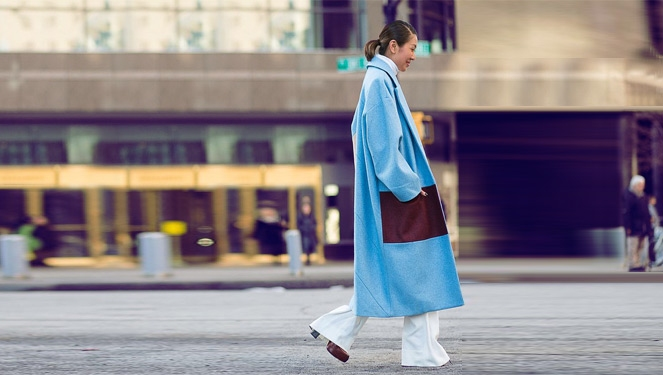 How Liz Uy Charmed The Sartorialist At New York Fashion Week