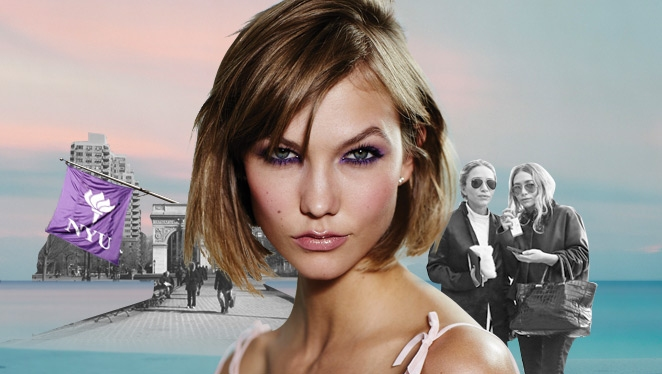What Is Karlie Kloss Majoring In At Nyu?