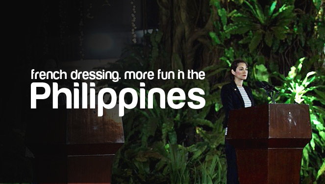 What Marion Cotillard Wore To MalacaÑang
