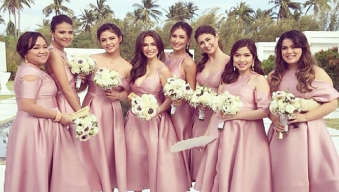 Mark Bumgarner Talks About Heart's Entourage And Reception Dresses
