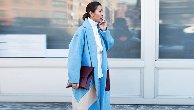 Watch: Bill Cunningham Took Note Of Liz Uy In Ice Blue