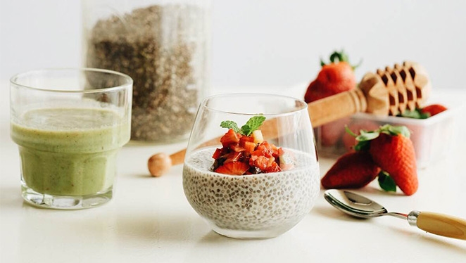 The Multi-tasker's Meal: Chia Seed Pudding