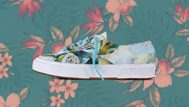 8 Printed Sneakers For Summer