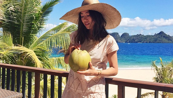 Song Of Style Caught Taking #ootds In Palawan