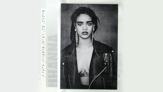 Rihanna Teases With New Album Cover
