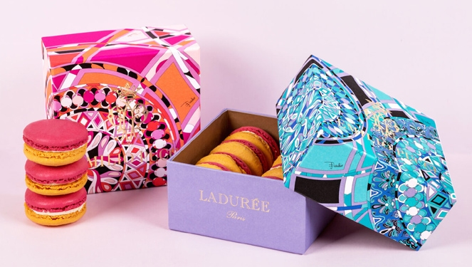 Pucci Dresses Up Laduree