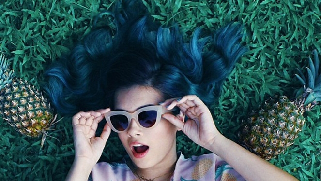8 Girls With Cool Hair Colors From Csb's School Of Design And Arts