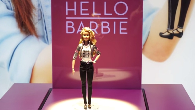 Hello Barbie: A Walking, Talking, Thinking Barbie