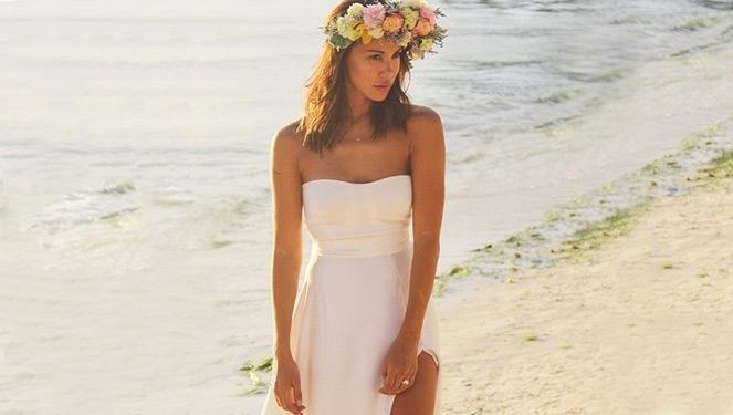 It Only Took 2 Days To Finish Tricia Centenera's Boracay Wedding Dress