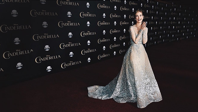 The 12 Times Lily James Looked Like A Princess Irl