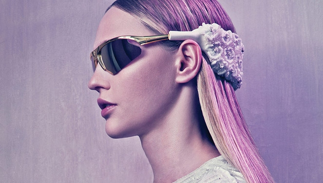 Would You Wear It? Balenciaga Ss 15 Headband Shades