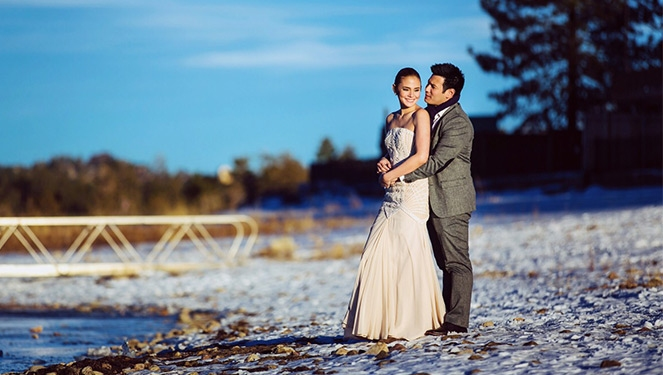 Isabel Oli Spills All The Deets On Her Prenup Shoot With John Prats