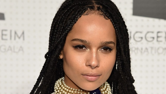 Zoë Kravitz Dropped Down To 90 Pounds To Play A Woman With Anorexia