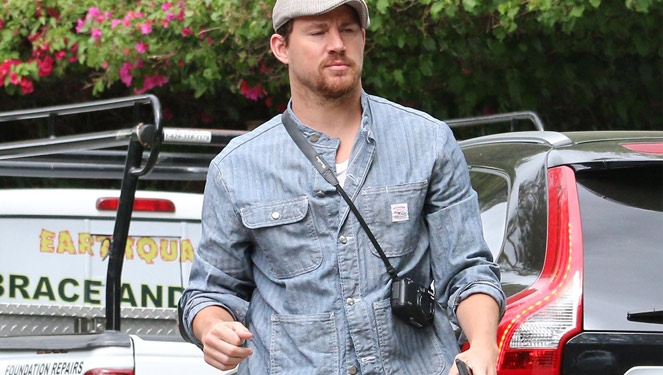 Have You Seen Channing Tatum's Backpack?