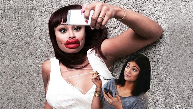 #kyliejennerchallenge: Plump Lips Sans Injections
