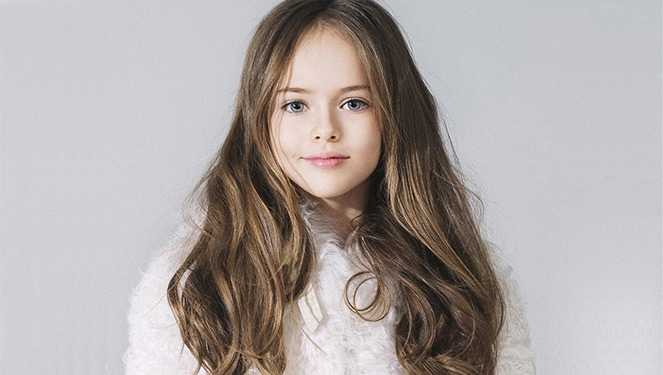 This Russian Supermodel Is 9 Years Old