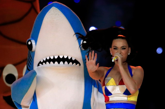 Katy Perry and Left Shark