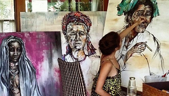 Solenn Heussaff's Art