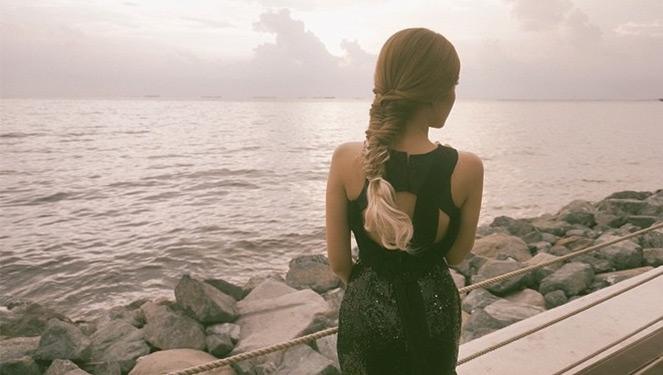 Get Tricia Gosingtian's Ombre Fishtail Braid