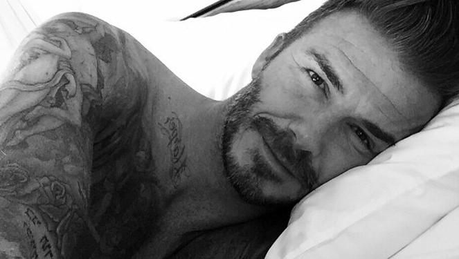 David Beckham Caused An Instagram Frenzy