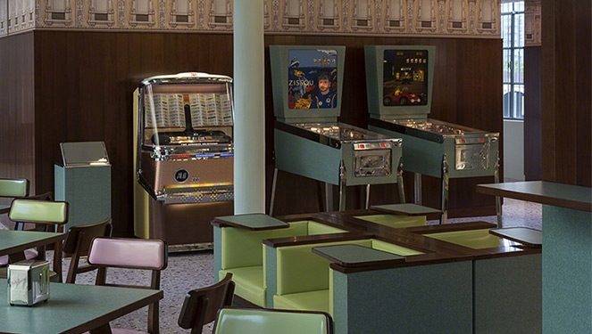 This Wes Anderson CafÉ Is What Dreams Are Made Of