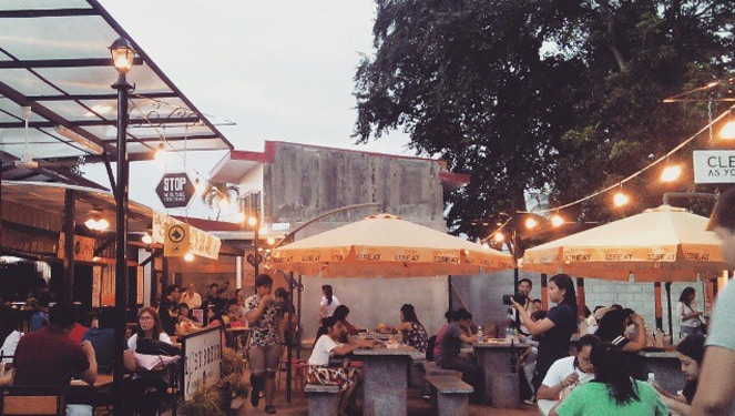 Food Trucks? How About A Food Park - In Maginhawa