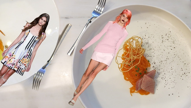 When Fashion And Food Go X-treme