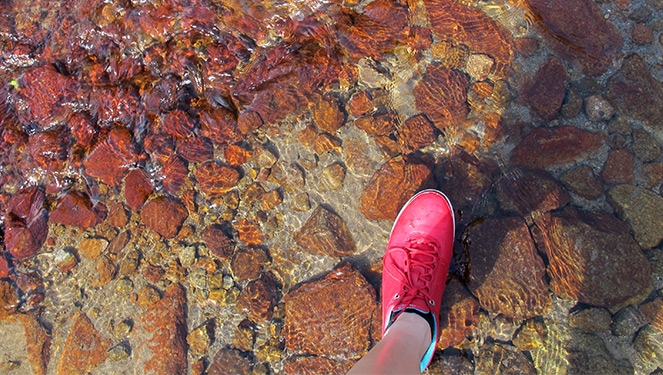 The Perfect Shoe For A Pinatubo Hike