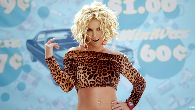 Watch: Britney's Back With An Outrageous New Video